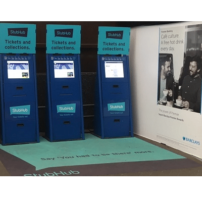 A4 Kiosk touch screen kiosks