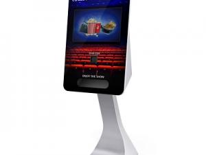 New! SmartCurve Card Dispensing Touch Screen Kiosk