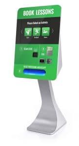 SmartCurve Kiosk touch screen kiosk