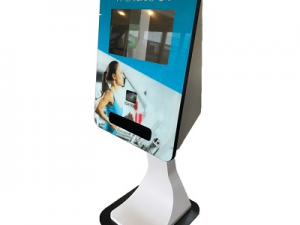 New! SmartCurve Wristband Touch Screen Kiosk