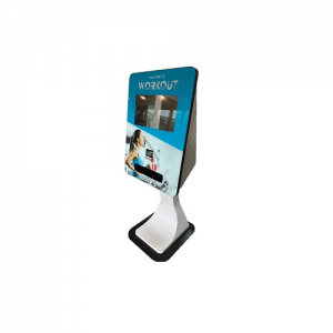 SmartCurve Card dispensing touch screen kiosk