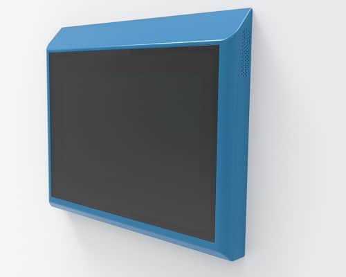 Wall mount touch screen kiosks from All Right Now Ltd